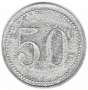 50 centimes - Arçonnerie Française - Saint-Sulpice (81) – revers