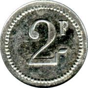 2 Francs - Arçonnerie Française - St Sulpice [81] – revers