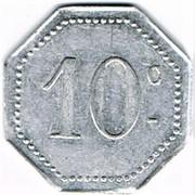 10 centimes - Arçonnerie Française 1914 - St Sulpice (81) – revers