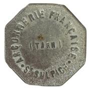 10 centimes - Arçonnerie Française Tarn - St Sulpice [81] – avers