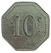 10 centimes - Arçonnerie Française Tarn - St Sulpice [81] – revers