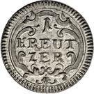 1 kreuzer - Beda Angehrn – revers