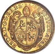 1 ducat - Beda Angehrn – avers