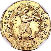 1 ducat - Beda Angehrn – revers