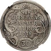 30 Kreuzer / ½ Gulden – revers