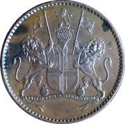 ½ Penny (Compagnie britannique des Indes orientales) – avers