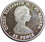 25 Pence - Elizabeth II (Year of Scout) – avers