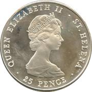 25 Pence - Elizabeth II (Crown) – avers