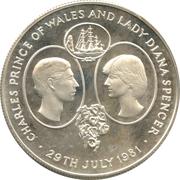 25 Pence - Elizabeth II (Crown) – revers