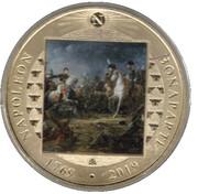 One Crown 'Napoleon at Austerlitz' – revers