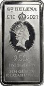 10 Pounds - Elizabeth II (East India Company) – avers