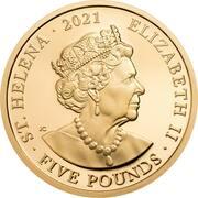 5 Pounds - Elizabeth II (Napoleon Bonaparte) – avers