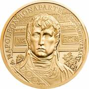 5 Pounds - Elizabeth II (Napoleon Bonaparte) – revers