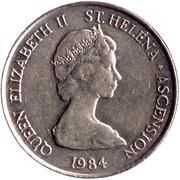 10 pence Elizabeth II (2e effigie) – avers