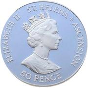 50 Pence - Elizabeth II (D-Day, Piedfort) – avers