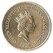 1 livre - Elizabeth II (3ème effigie) – avers