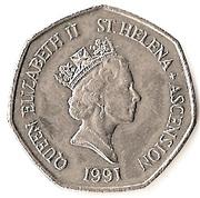 50 pence - Elizabeth II (3e effigie, grand module) – avers