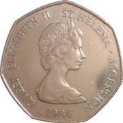 50 pence - Elizabeth II (2e effigie) – avers