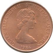 1 penny Elizabeth II (2e effigie) – avers