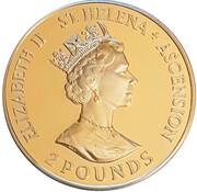 2 Pounds - Elizabeth II (Coronation Jubilee) – avers