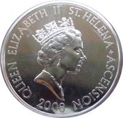 5 Pounds - Elizabeth II (Spitfire) – avers