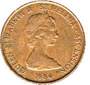 2 pence Elizabeth II (2e effigie) – avers