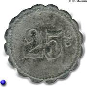 25 Centimes UCM - Sainte Menehould [51] – revers