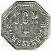 50 centimes - Saint Menehould (51) – avers