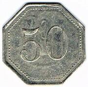 50 centimes - Saint Menehould (51) – revers