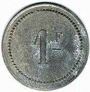 1 Franc - Saint Menehould (51) – revers