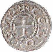 1 Denier - Louis IV – avers