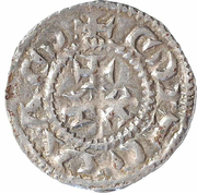 1 Denier - Louis IV – revers