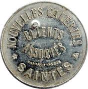 25 Centimes - Nouvelles galeries - Saintes [17] – avers