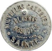 15 Centimes - Nouvelles galeries - Saintes [17] – avers