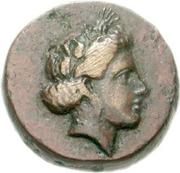 Bronze Æ15 (Salamis) – avers