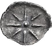 Obol- Evagoras II (Salamis) – revers