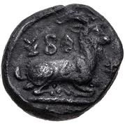 ⅓ Siglos - Evagoras I (Salamis) -  avers