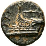AE13 - Evagoras II (Salamis) – revers