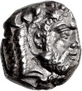 Siglos - Evagoras I (Salamis) -  avers
