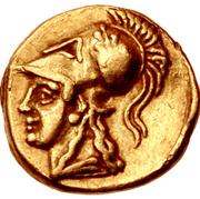 1/10 Stater - Nikokles (Salamis) – revers