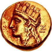 Stater - Nikokreon (Salamis) – avers