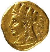 ⅓ Stater - Menelaos (Salamis) – avers