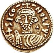 1 solidus Siconolf – avers