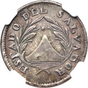 1 Real (Provisional coinage) – avers