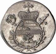 5 kreuzer Hieronymus von Colloredo -  avers