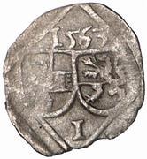 1 pfennig Johann Jakob Khuen von Belasi – avers