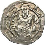 1 pfennig Adalbert III de Bohême (Friesach) – avers