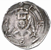 1 pfennig Eberhard II von Regensberg (Friesach) – revers