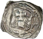 1 pfennig Eberhard II (Friesach) – revers