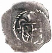 1 pfennig Sigismund von Volkersdorf – avers